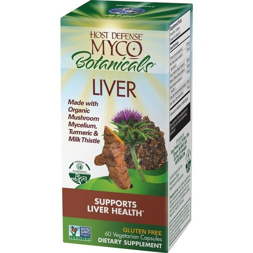HOST DEFENSE Host Defense MycoBotanicals Liver, 60cp
