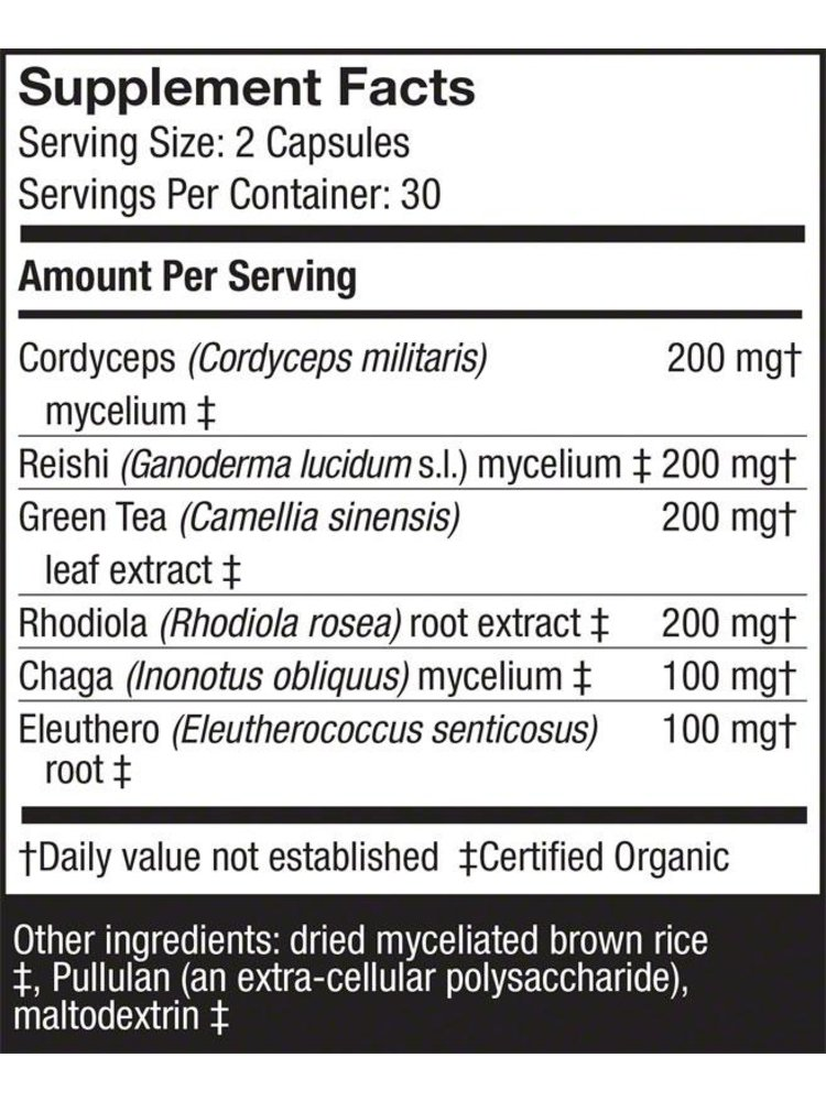HOST DEFENSE Host Defense MycoBotanicals Energy, 60cp