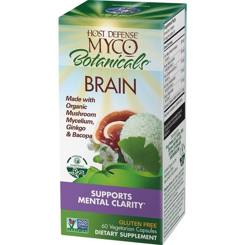 HOST DEFENSE Host Defense MycoBotanicals Brain. 60ct