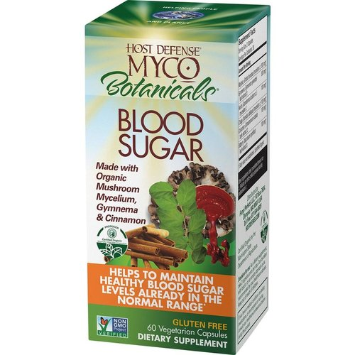 HOST DEFENSE Host Defense MycoBotanicals Blood Sugar, 60cp