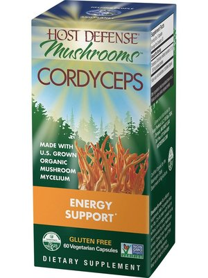 HOST DEFENSE Host Defense Cordyceps, 60ct
