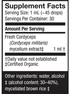 HOST DEFENSE Host Defense Cordyceps Extract, 1oz.
