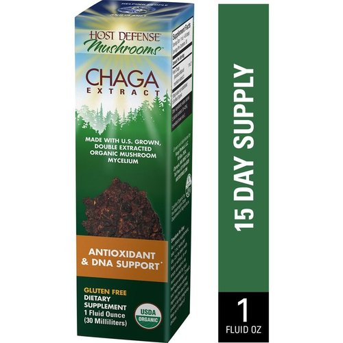HOST DEFENSE Host Defense Chaga Extract, 1oz.