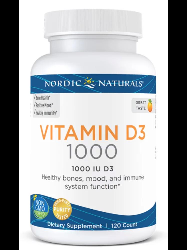 Nordic Naturals Nordic Naturals Vitamin D3, 120ct