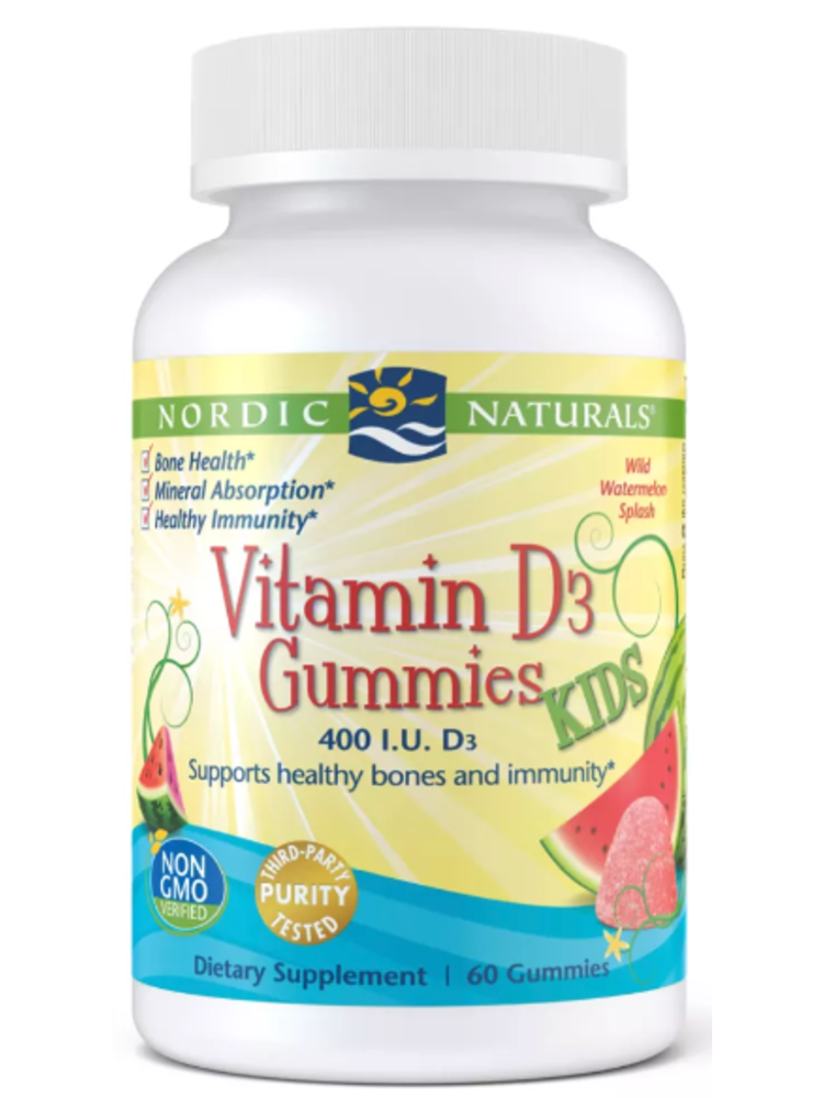 Nordic Naturals Nordic Naturals Vitamin D3 Kids Gummies, 60ct