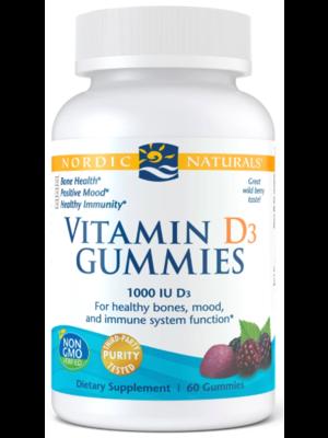 Nordic Naturals Nordic Naturals Vitamin D3 Gummies, 60ct