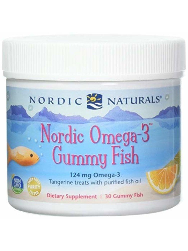 Nordic Naturals Nordic Naturals Omega-3 Gummy Fish Tangerine, 30ct