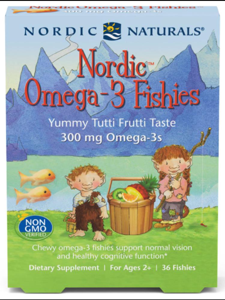 Nordic Naturals Nordic Naturals Omega-3 Fishies Tutti Frutti, 36ct