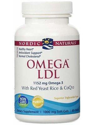 Nordic Naturals Nordic Naturals Omega LDL w/CoQ10, 60ct