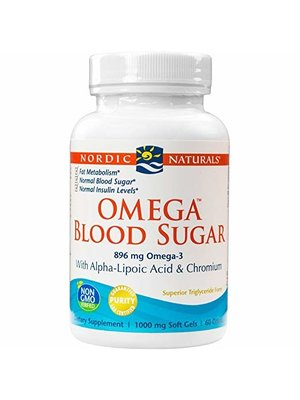 Nordic Naturals Nordic Naturals Omega Blood Sugar, 60ct