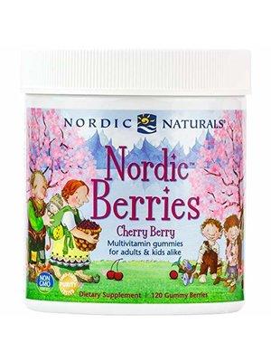 Nordic Naturals Nordic Naturals Nordic Berries, Cherry Berry, 120ct