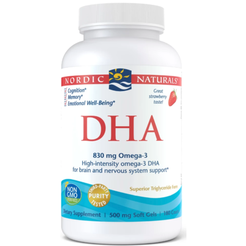 Nordic Naturals Nordic Naturals DHA Strawberry, 180ct