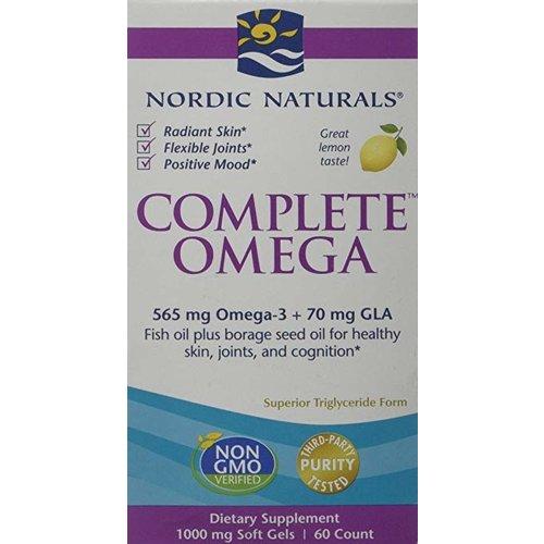 Nordic Naturals Nordic Naturals Complete Omega 3-6-9, Lemon, 60ct