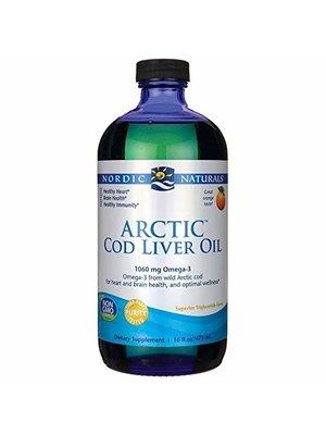 Nordic Naturals Nordic Naturals Arctic Cod Liver Oil, Orange, 16oz.
