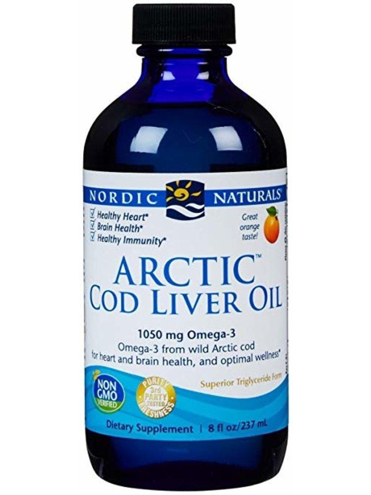 Nordic Naturals Nordic Naturals Arctic Cod Liver Oil, Orange 8oz