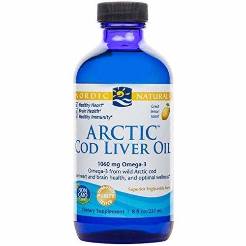 Nordic Naturals Nordic Naturals Arctic-D Cod Liver Oil, Lemon, 8oz