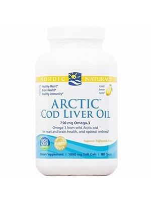 Nordic Naturals Nordic Naturals Arctic Cod Liver Oil, Lemon 180sg