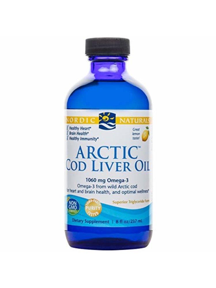 Nordic Naturals Nordic Naturals Arctic Cod Liver Oil Lemon 8oz