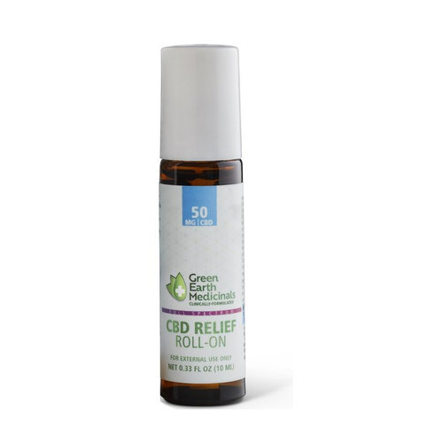 GREEN EARTH MEDICINALS Green Earth Medicinals CBD Relief Roll-On, 10ml