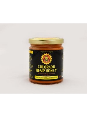 COLORADO HEMP HONEY Colorado Hemp Honey, Turmeric Black Pepper 6oz