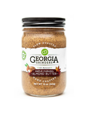 Georgia Grinders Georgia Grinders Almond Butter, Maple Caramel, 12oz.