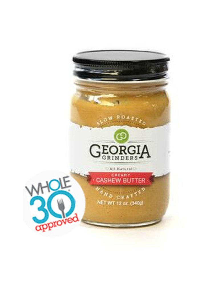 Georgia Grinders Georgia Grinders Creamy Cashew Butter, 12oz.
