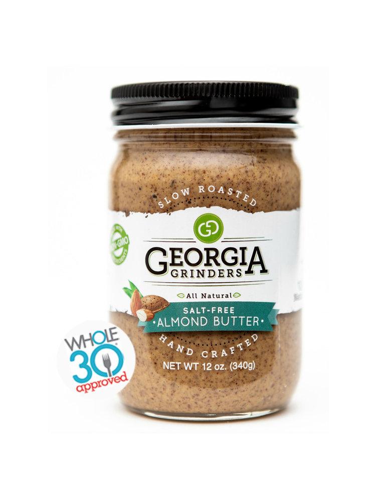 Georgia Grinders Salt-Free Almond Butter, 12oz.