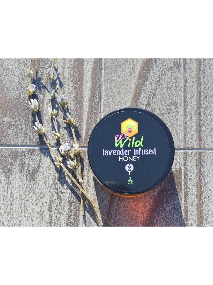 Bee Wild Bee Wild Lavender Infused Honey 3oz