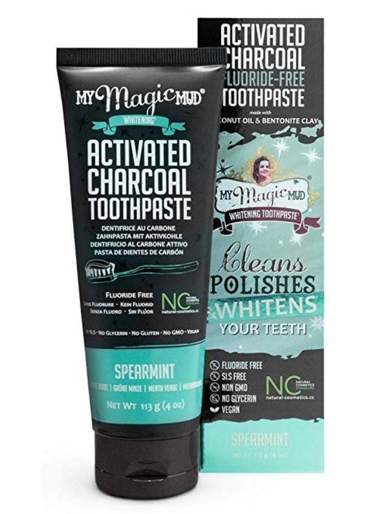 My Magic Mud My Magic Mud Toothpaste, Spearmint, 4oz.