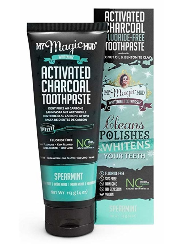 My Magic Mud Toothpaste, Spearmint, 4oz.