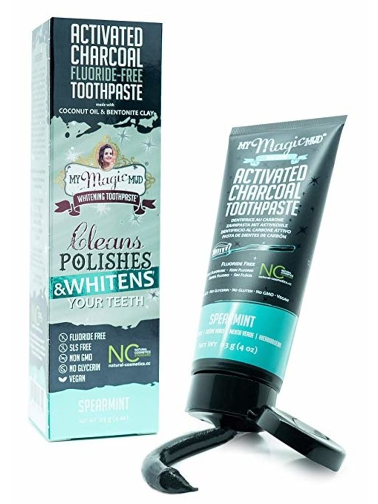 My Magic Mud My Magic Mud Toothpaste, Spearmint, 4oz.