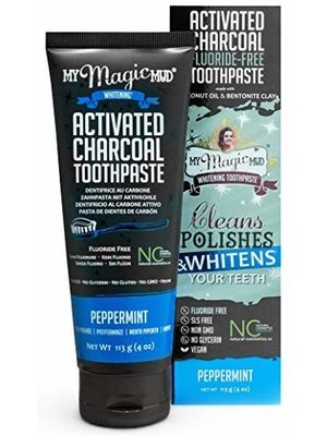 My Magic Mud My Magic Mud Toothpaste, Peppermint, 4oz.