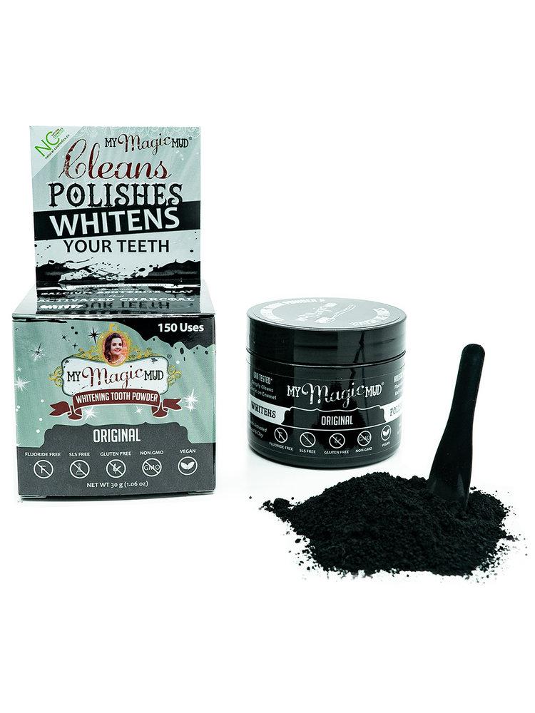 My Magic Mud My Magic Mud Whitening Tooth Powder, Original, 1.06oz.