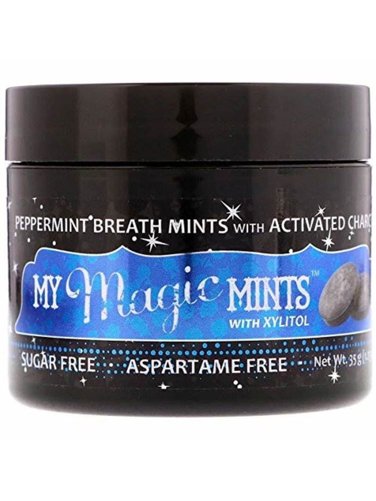 My Magic Mud My Magic Mud Charcoal Mints, Peppermint, 1.23oz.
