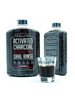 My Magic Mud My Magic Mud Activated Charcoal Oral Rinse, Cinnamon, 14.2oz.