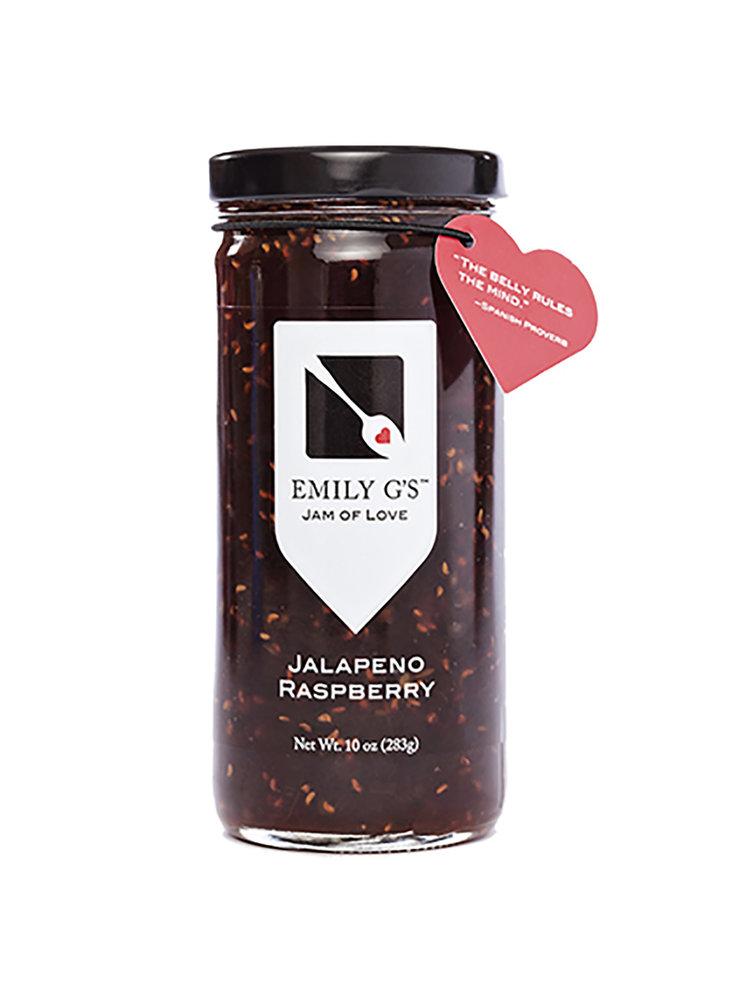 Emily G's Jalapeno Raspberry Jam, 10oz.
