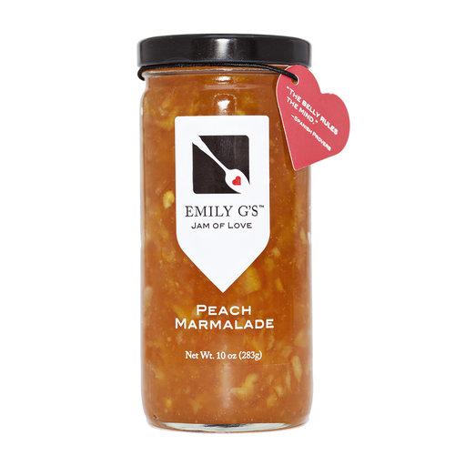 Emily G's Emily G's Peach Marmalade Jam, 10oz.