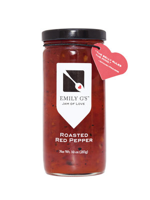 Emily G's Roasted Red Pepper Jam, 10oz.