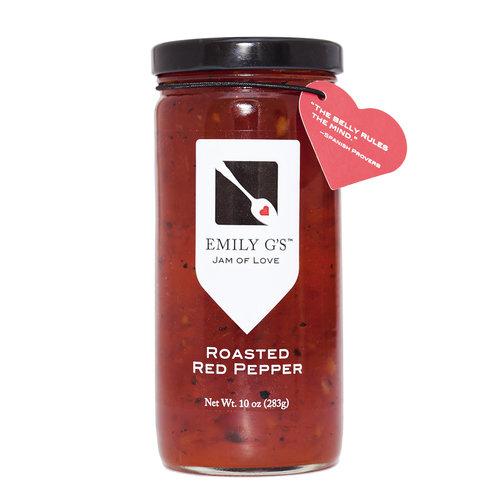 Emily G's Emily G's Roasted Red Pepper Jam, 10oz.