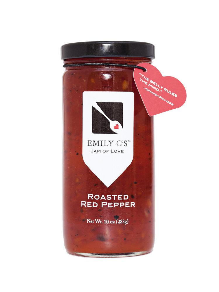Emily G's Emily G's Roasted Red Pepper Jam, 10oz.