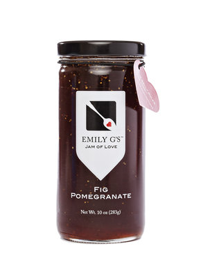 Emily G's Emily G's Fig Pomegranate Jam, 10oz.