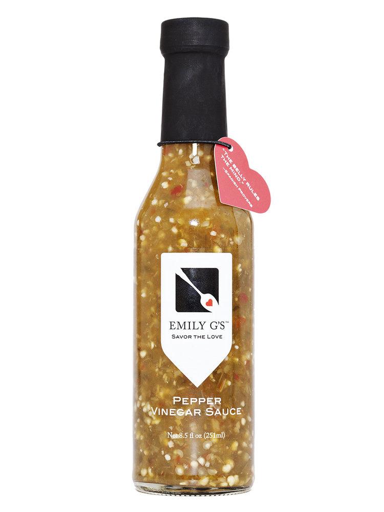 Emily G's Pepper Vinegar Sauce, 8.5oz.