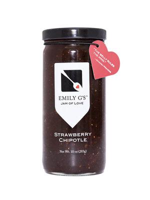 Emily G's Strawberry Chipotle Jam, 10oz.