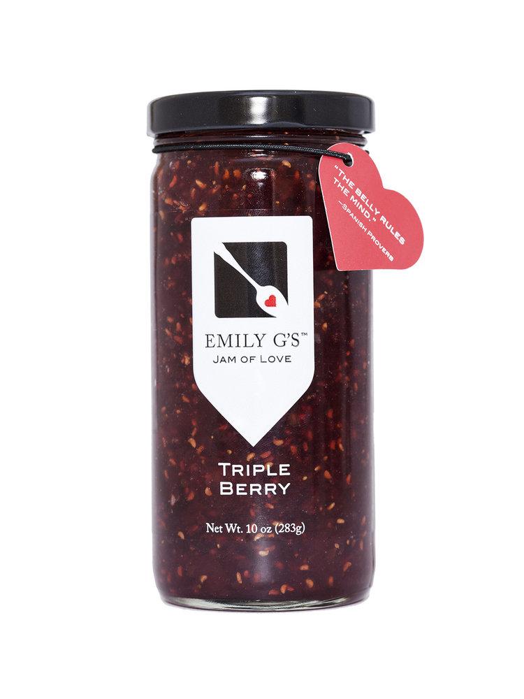 Emily G's Emily G's Triple Berry Jam, 10oz.