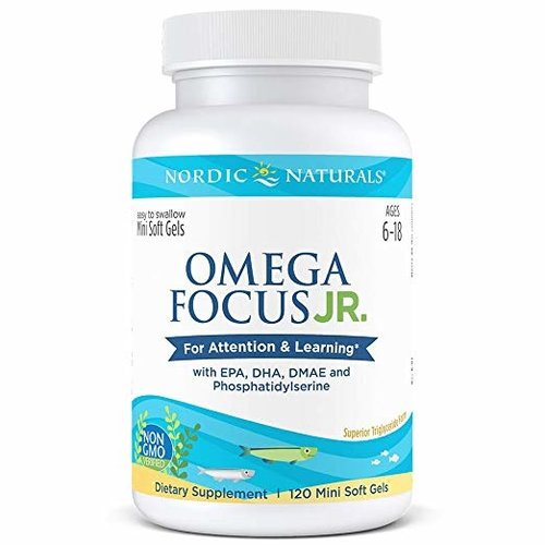 Nordic Naturals Nordic Naturals Omega Focus Junior, 120ct
