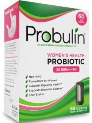 Probulin Probulin Women's Health Probiotic, 60ct