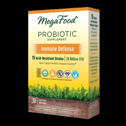 MegaFood Megafood SS Probiotic, Immune Defense, 30cp
