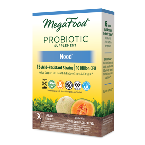 MegaFood Megafood SS Probiotic, Mood, 30cp