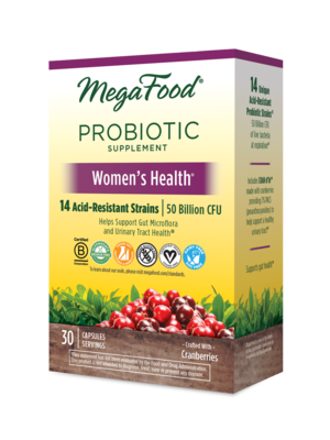 MegaFood Megafood SS Probiotic, Women's Health, 30cp