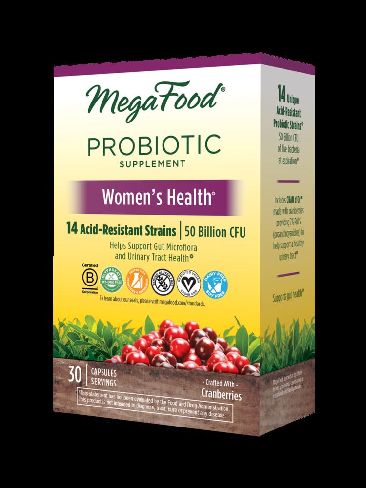MegaFood Megafood SS Probiotic, Women's Health, 30cp